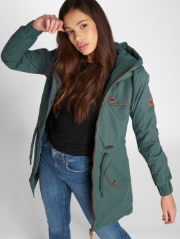 Alife & Kickin Coats Charlotte C Coat green
