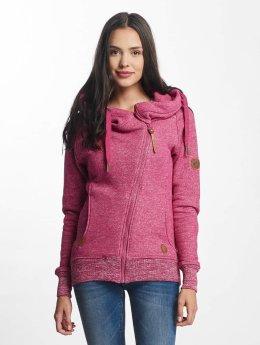 Alife & Kickin Hoodies con zip Snakecharmer rosa