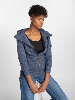 Alife & Kickin Sweat capuche zippé Yasmin bleu