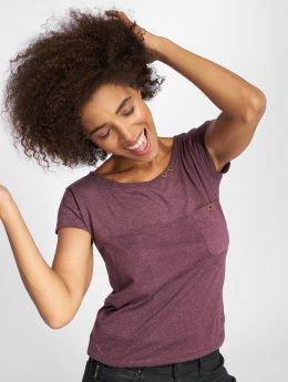 Alife & Kickin T-paidat Cora purpuranpunainen