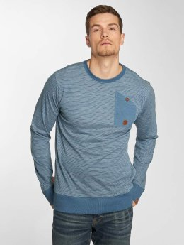 Alife & Kickin T-Shirt manches longues Samuel A bleu