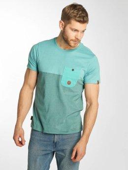 Alife & Kickin T-shirt Leo turchese
