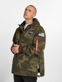 Alpha Industries Демисезонная куртка NASA Anorak камуфляж