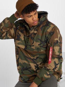 Alpha Industries Демисезонная куртка WP коричневый