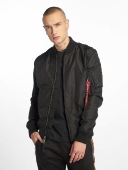 Alpha Industries Зимняя куртка MA 1 черный