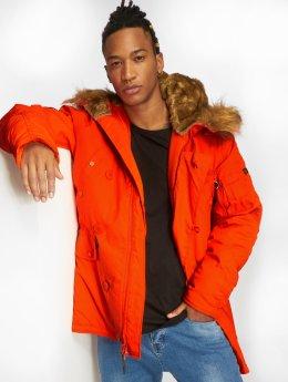 Alpha Industries Пальто Explorer оранжевый