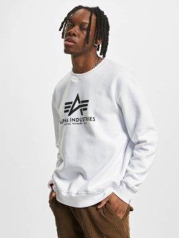 Alpha Industries Пуловер Basic белый