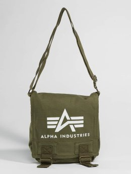 Alpha Industries Сумка Big A Canvas оливковый