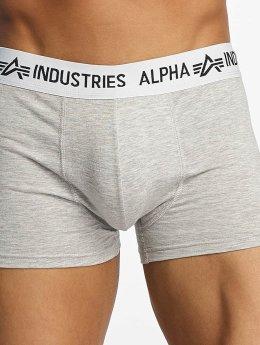 Alpha Industries Alusasut Trunk harmaa
