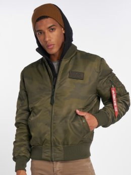 Alpha Industries Bomber MA-1 D-Tec camouflage