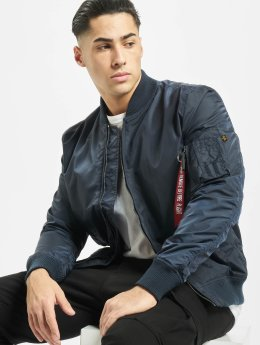 Alpha Industries Bomber jacket MA 1   blue