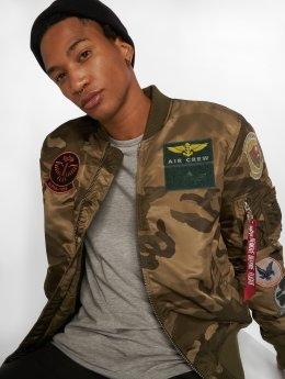 Alpha Industries Bomber jacket MA-1 Pilot camouflage