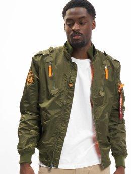 Alpha Industries Bomber jacket Falcon II green