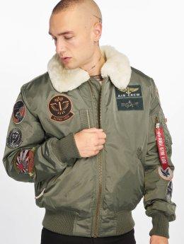 Alpha Industries Bomber jacket Injector III Patch green