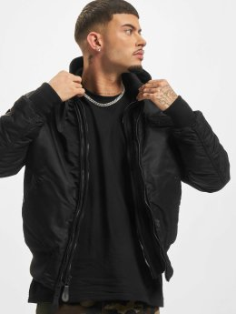 Alpha Industries Bomber MA-1 D-Tec SE Flight noir
