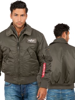 Alpha Industries Bomber X-Force  Republica olive