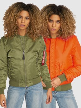 Alpha Industries Bomberjack MA-1 SF groen