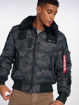 Alpha Industries Bomberjacke Injector III Patch camouflage
