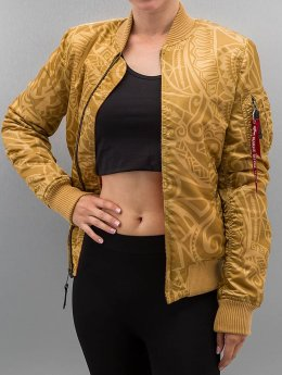 Alpha Industries Bomberjacke Ma-1F Tonga goldfarben