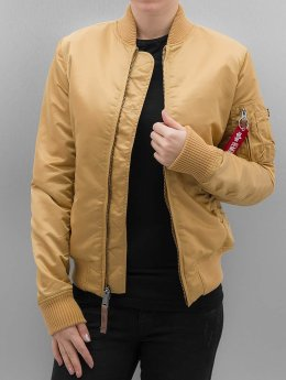 Alpha Industries Bomberjacke MA 1 VF 59 Women goldfarben