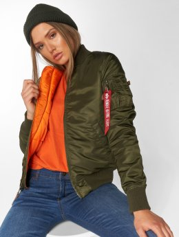 Alpha Industries Bomberjacke Ma 1 VF 59 grün