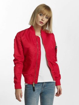 Alpha Industries Bomberjacke MA-1 VF rot