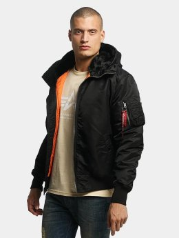 Alpha Industries Bomberjacke MA-1 Hooded schwarz