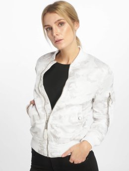 Alpha Industries MA-1 VFLW Bomber Jacket White Camo