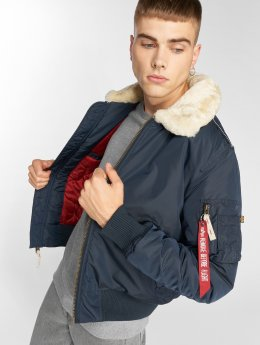 Alpha Industries Bomberová bunda Injector III modrá