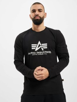 Alpha Industries Camiseta de manga larga Basic  negro