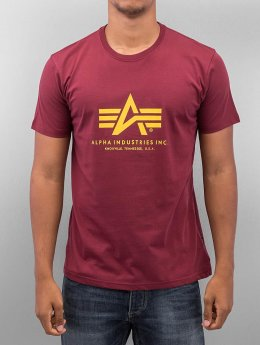 Alpha Industries Camiseta Basic rojo
