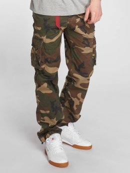 Alpha Industries Cargo pants Jet camouflage