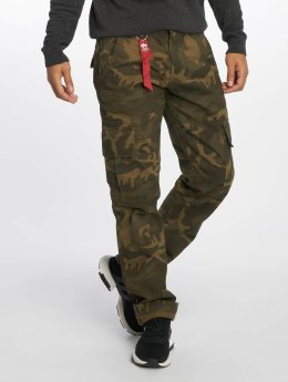 Alpha Industries Cargobroek Agent C camouflage