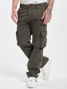 Alpha Industries Cargobroek Jet grijs