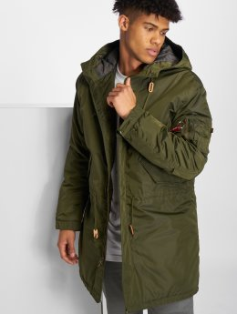 Alpha Industries Chaqueta de invierno Fishtail CW TT verde