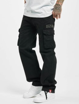 Alpha Industries Chino bukser Jet svart