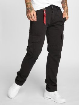 Alpha Industries Chino bukser Agent  svart
