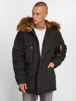 Alpha Industries Coats Explorer black