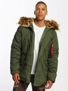 Alpha Industries Coats Explorer green