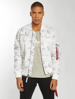 Alpha Industries Giubbotto Bomber MA-1 TT bianco
