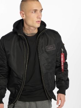 Alpha Industries Giubbotto Bomber MA-1 D-tec Bomber Jacket nero