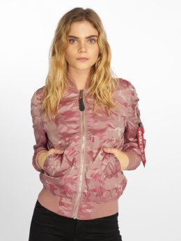 Alpha Industries Giubbotto Bomber MA-1 VFLW rosa