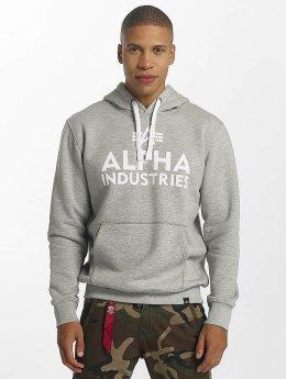 Alpha Industries Hettegensre Foam Print grå