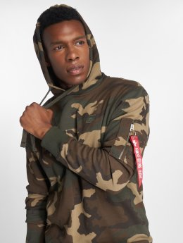 Alpha Industries Hoodie X-Fit camouflage