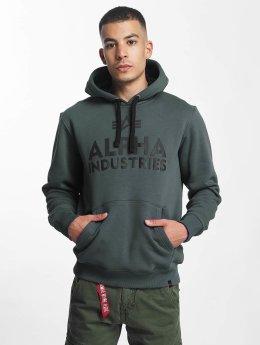 Alpha Industries Hoodie Foam Print gray