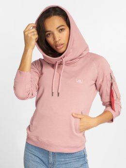 Alpha Industries Hoody X-Fit pink