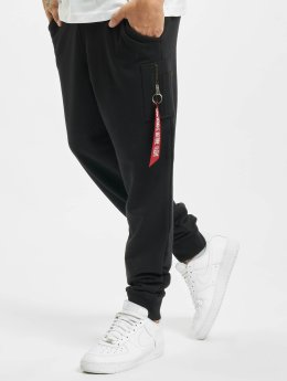 Alpha Industries Joggingbyxor X-Fit Cargo svart