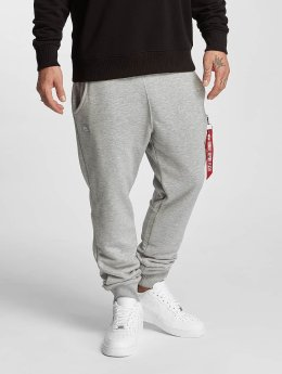 Alpha Industries Jogginghose X-Fit Loose grau