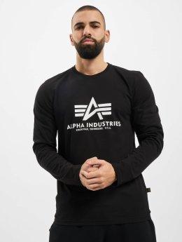 Alpha Industries Langærmede Basic  sort