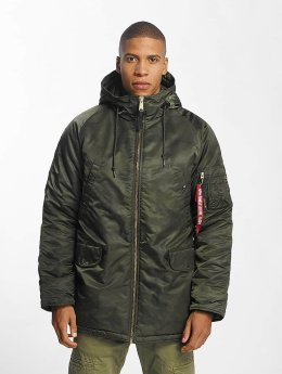 Alpha Industries Manteau hiver N3-B PM camouflage